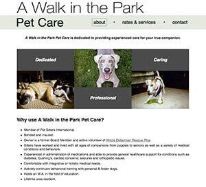 a walk in the park pet care