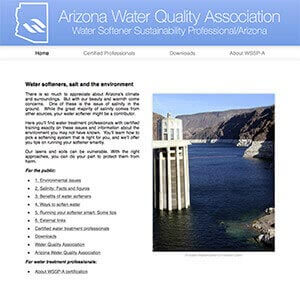 water softener sustainability program